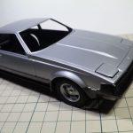 タミヤ 1/24 トヨタ セリカXX 2800GTの製作【4】ボディー&シャーシの塗装
