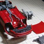 タミヤ 1/24 NISSAN フェアレディZ 300ZX TURBOの製作【3】リカバリー作業