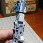 バンダイ 1/100 MG ケンプファーの製作【8】脚部ももパーツの加工
