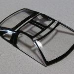 タミヤ 1/24 NISSAN フェアレディZ 300ZX TURBOの製作【6】ウインドウの黒枠の塗装