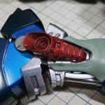 バンダイ 1/100 MG ギラ・ドーガの製作【15】脚部の外装の製作