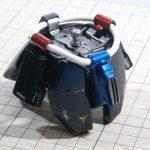 バンダイ 1/100 MG ギラ・ドーガの製作【18】各部外装の製作2